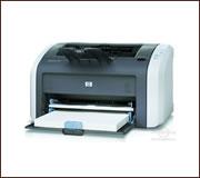 HP LaserJet 1012 nyomtató, kompatibilis toner típusa HP Q2612A.
