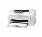 HP LaserJet 1018 nyomtató, kompatibilis toner típusa HP Q2612A.