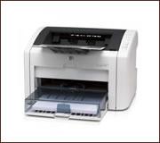 HP LaserJet 1022 nyomtató, kompatibilis toner típusa HP Q2612A.