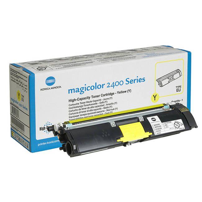 Minolta QMS 2400 Yellow eredeti toner