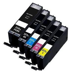 Canon PGI-550xl- CLI-551xl chipes utángyártott patroncsomag