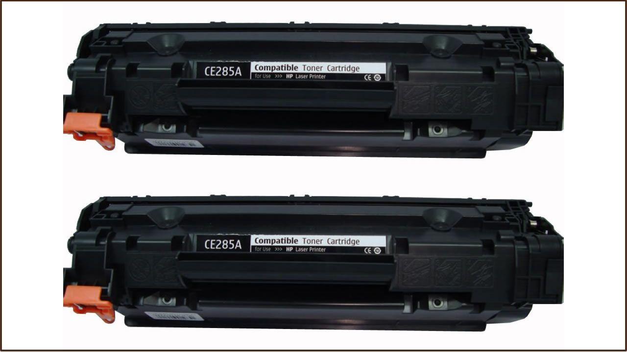 HP CE285A utángyártott duopakk toner P1102 M1132