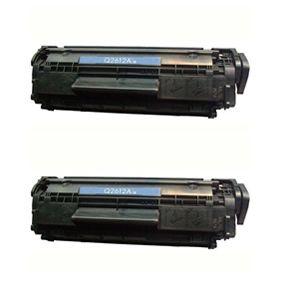 HP Q2612A utángyártott duopakk toner 1010, 1018, 1020, 1022